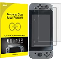 JETech Film de Protection d'écran pour Nintendo Switch 2017 en Verre Trempé, Lot de 2