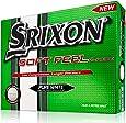Srixon Soft Feel Men's Golf Balls  - White, 12 Pack