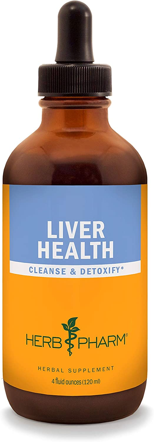 Herb Pharm Liver Health Liquid Herbal Formula for Liver and Gallbladder Support – 4 Ounce