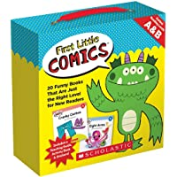 First Little Comics: Levels A & B (Parent Pack): 20 Funny Books That Are Just the Right Level for New Readers