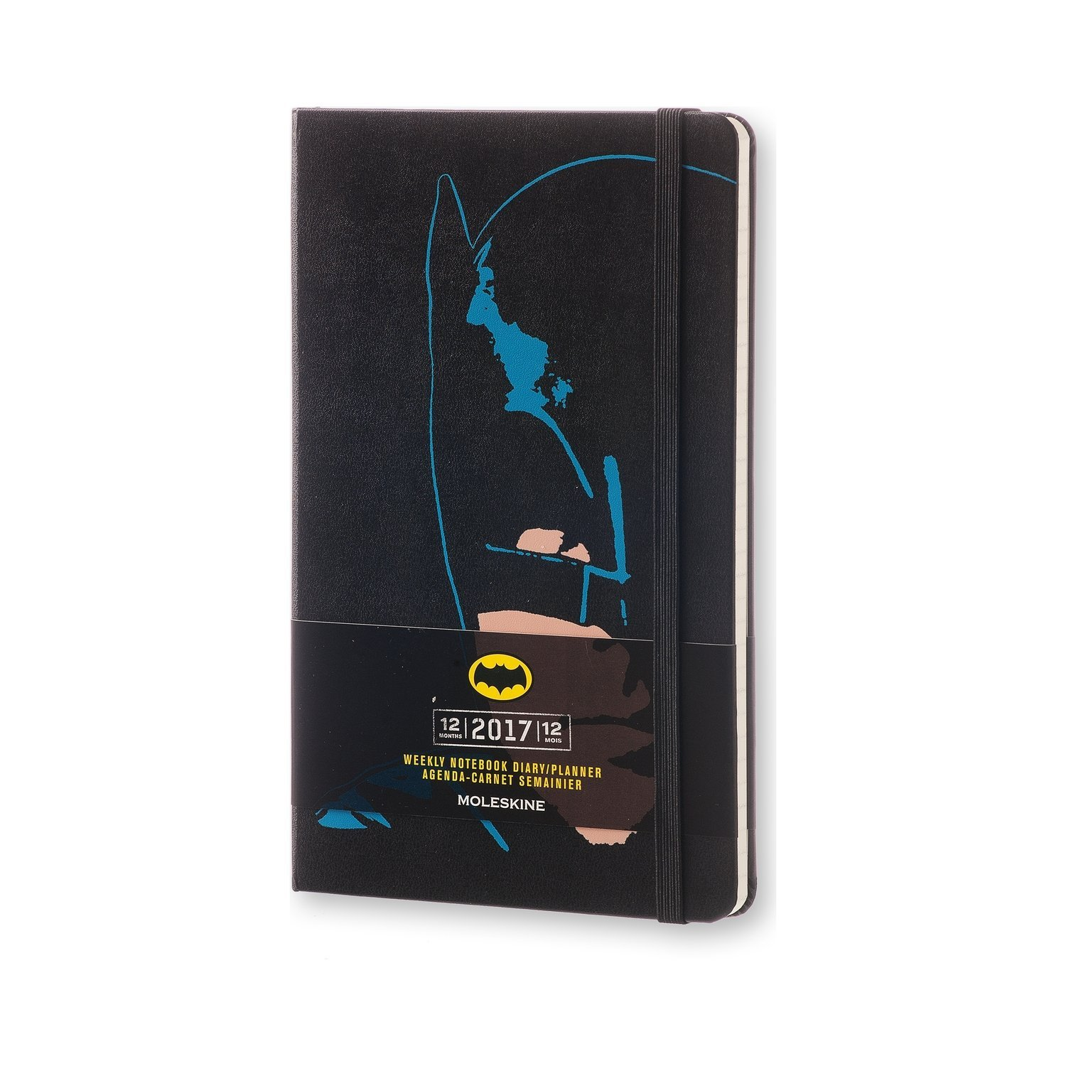 Moleskine 2017 Batman Limited Edition Weekly Notebook, 12M ...