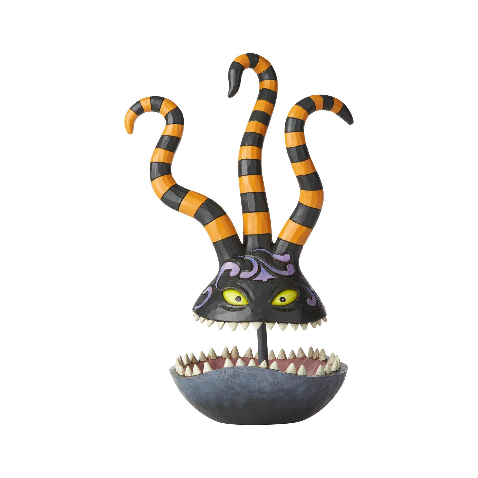 Enesco Jim Shore Disney Traditions The Nightmare Before Christmas Harlequin Demon Trinket Dish
