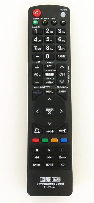 Amazon.com: Nettech New LG AKB72915239 Universal Remote Control for All LG  Brand TV, Smart TV - 1 Year Warranty(LG-23+AL): Electronics