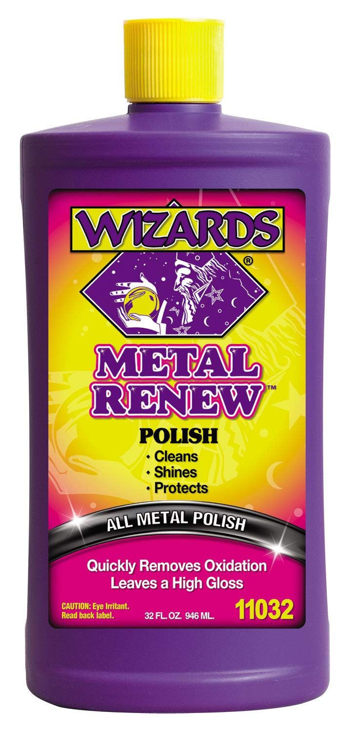 Wizards 11020 Metal Renew Liquid Polish - 8 oz. 3004.3031