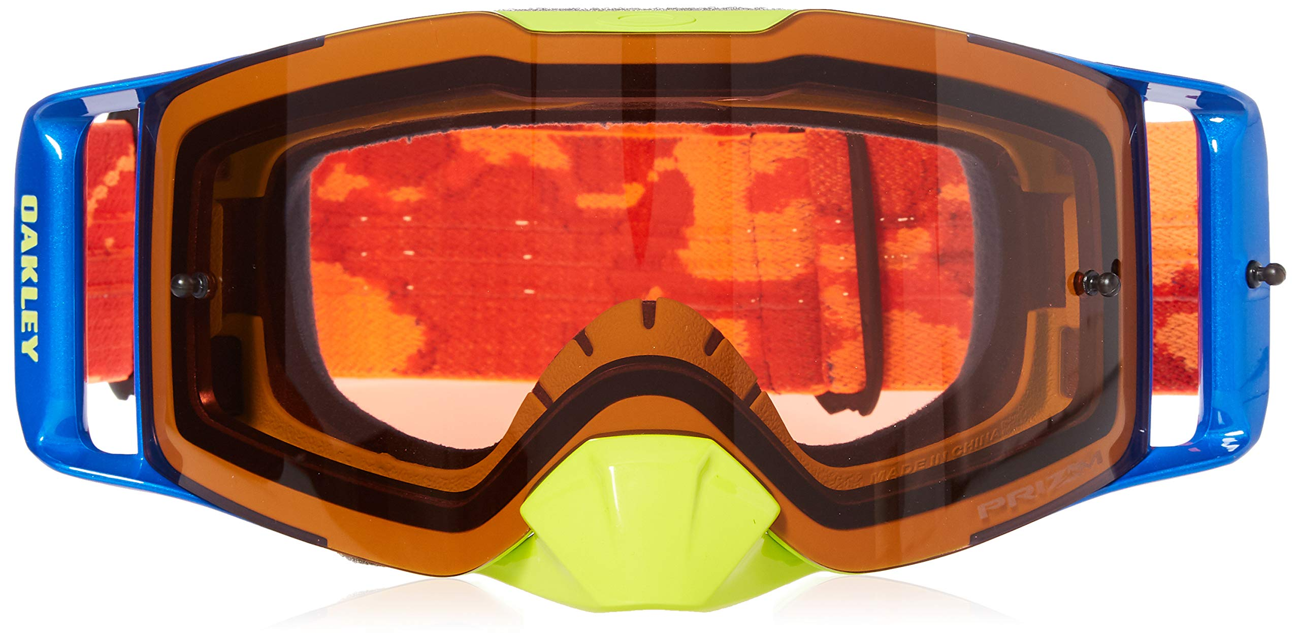 Oakley OO7087-14 FL MX Thermocamo Unisex-Adult Goggles, Large, Orange/Red by Oakley (Image #2)