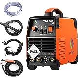 Máquina de soldadura TIG portátil de 200 amperios de alta frecuencia 220 V TIG MMA 200 con soldadora…