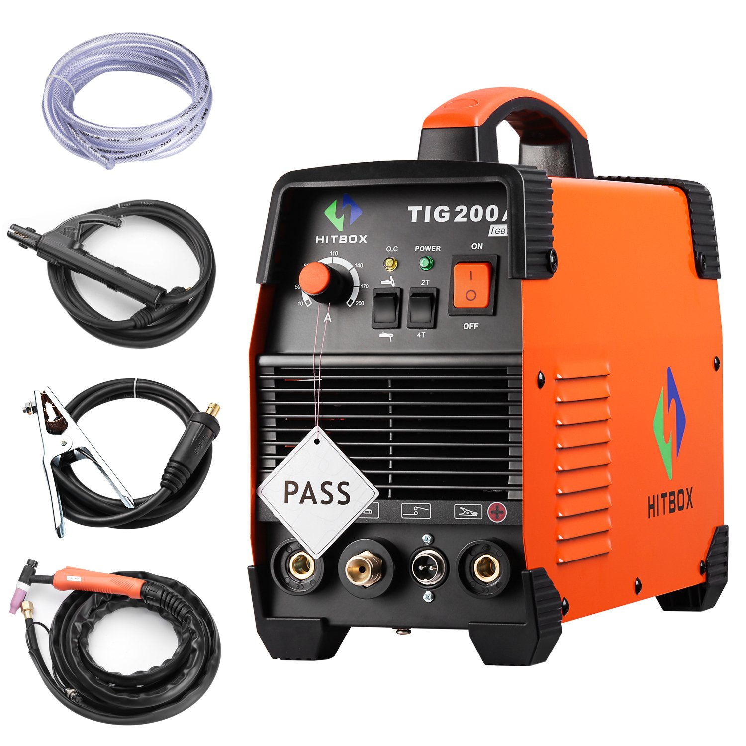200 Amp Portable Tig Welding Machine High Frequency 220v Mma Inverter Pcb Board Cutting Circuit Industry With Stick Igbt Welder