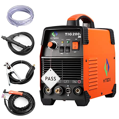 Máquina de alta frecuencia 220 V TIG MMA 200 con Wig de Stick de IGBT Inverter de schwei?Unidades De Hitbox: Amazon.es: Bricolaje y herramientas
