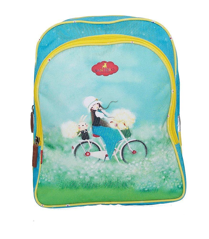 Santoro KORI Kumiスクールバックパック、ライトブルー(ブルー) - G4183600   B0743CQ5RS
