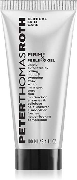 Peter Thomas Roth FIRMx Peeling Gel, Exfoliant for Dry and Flaky Skin, Enzymes and Cellulose Help Remove Impurities and Unclog Pores