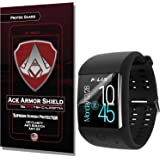 Ace Armor Shield ProTek Guard Screen Protector for the Polar M600 with free lifetime Replacement warranty