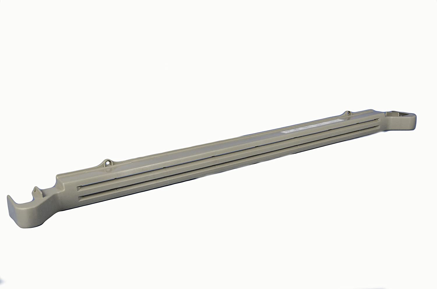 LG Electronics 3551JJ1066B Refrigerator Lower Cover Grill Assembly. Gray