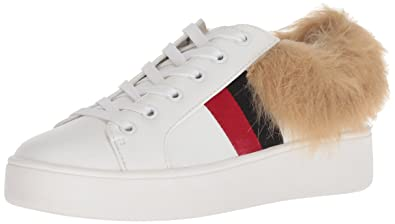 f72fe526ec9 Steve Madden Women s Belle-F Sneaker White Multi 6 ...
