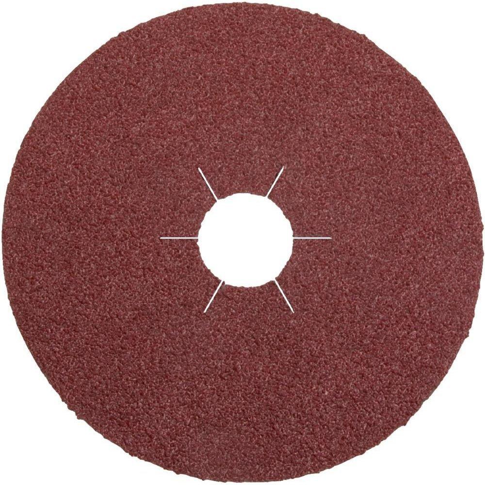 125 mm Brun Klingspor 11018 CS 561 Disque fibre Grain 120 Corindon