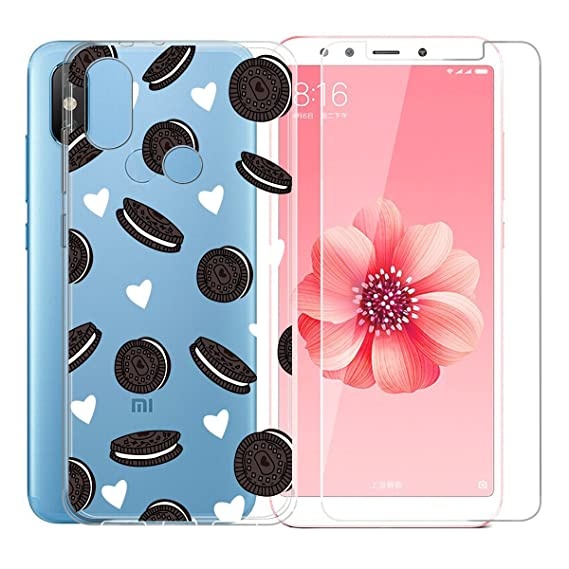 Amazon.com: Case for XiaoMi Mi 8,ZXLZKQ Chocolate Hamburger ...