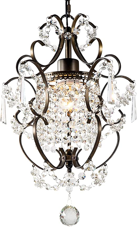 GNDS Modern Crystals Chandeliers,Small Chandelier Pendant Lighting,Ceiling  Lights Fixtures for Living Room Bedroom Restaurant Dining ...