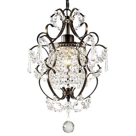 GNDS Modern Crystals Chandeliers,Small Chandelier Pendant Lighting,Ceiling  Lights Fixtures for Living Room Bedroom Restaurant Dining ...