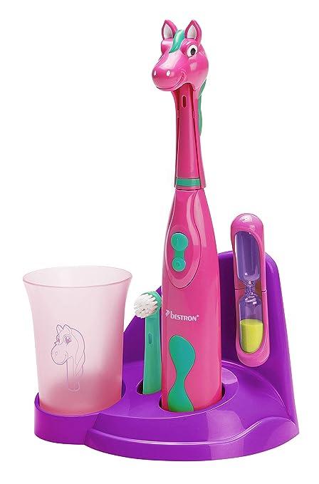 Bestron DSA3500P - Bestron DSA3500P Niño Cepillo dental giratorio Verde, Rosa, Púrpura cepillo eléctrico para dientes - Cepillo de dientes eléctrico ...