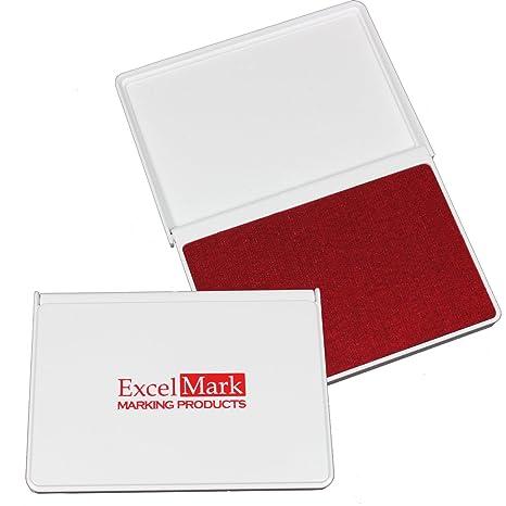 Amazon.com: ExcelMark Almohadillas de tinta para sellos de ...
