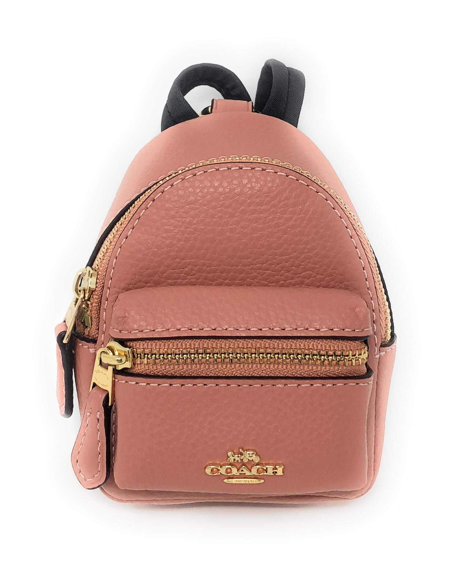 Coach Leather Backpack Coin Purse Bag Charm Key-chain