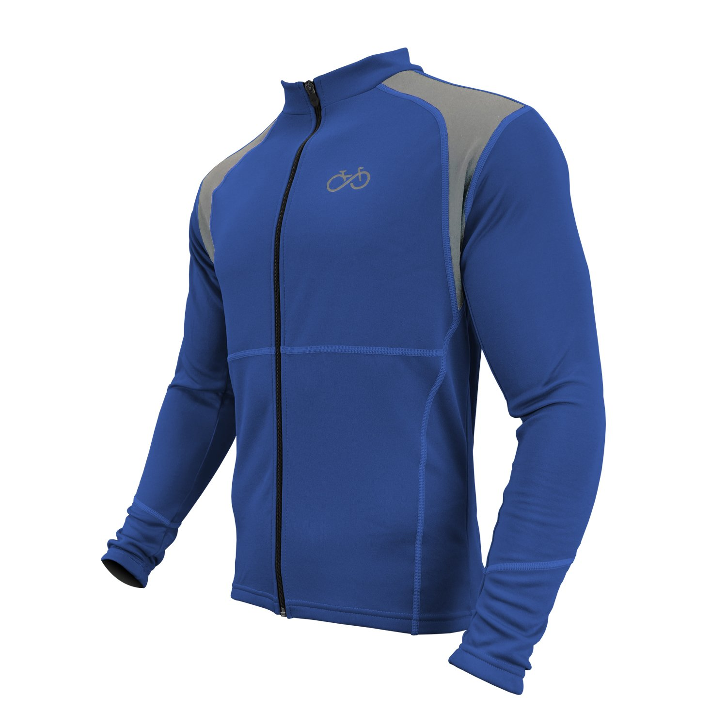 Thermal Winter Softshell Fleece Cycling Jersey Jacket
