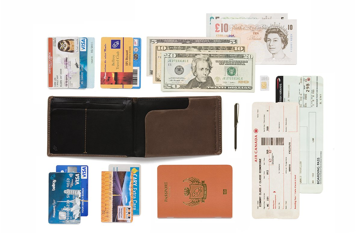 Bellroy Leather Travel Wallet Cocoa by Bellroy (Image #3)