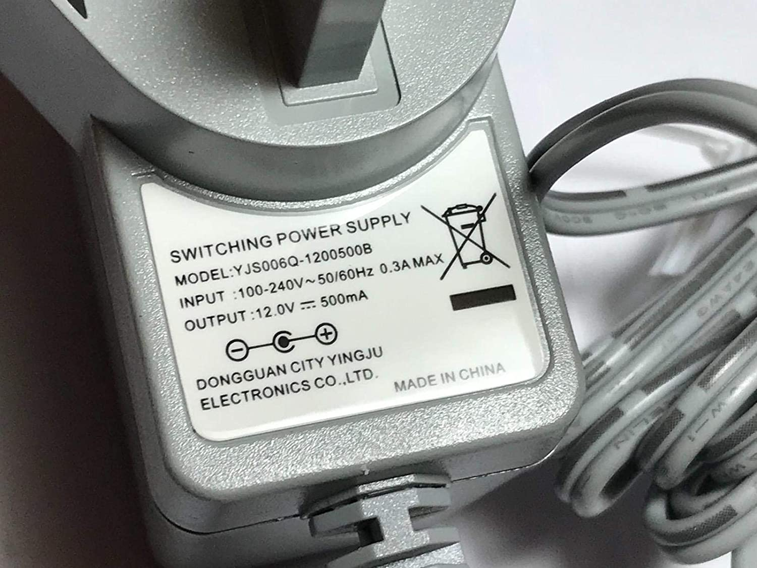 UK Replacement for 12V 300mA 3.6W Golden Power GP-SW120DC0300 UK