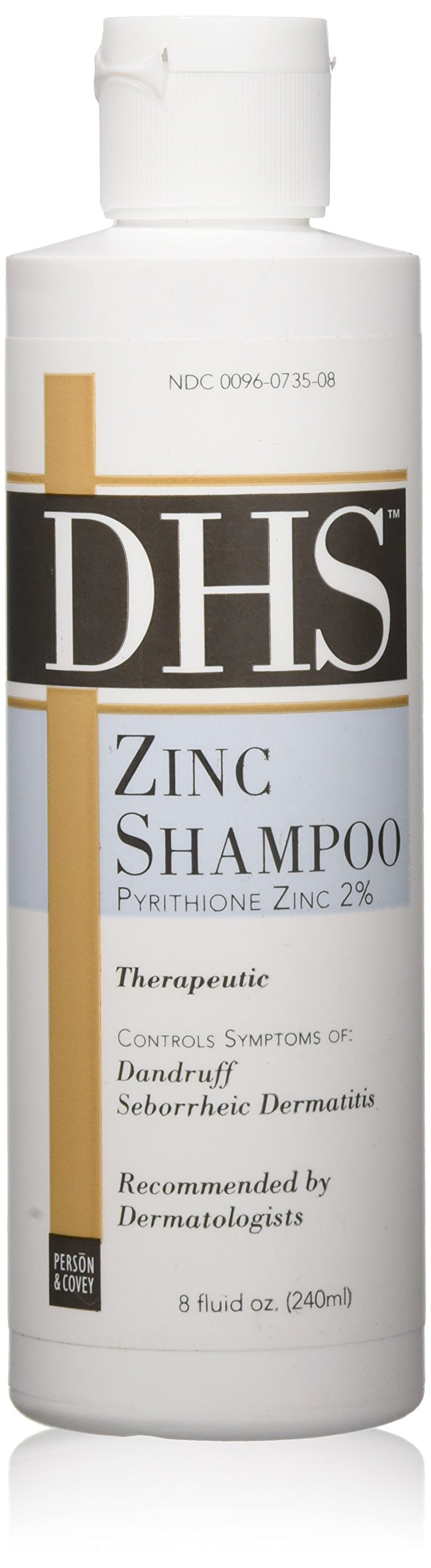 DHS Zinc Shampoo 8 oz