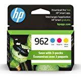 HP 962   3 Ink Cartridges   Cyan, Magenta, Yellow   Works with HP OfficeJet Pro 9000 Series   3HZ96AN, 3HZ97AN, 3HZ98AN