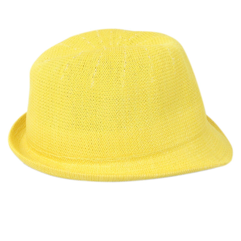 ccea07bb3cd ILU Girl s Bucket Sun Hat Yellow  Amazon.in  Clothing   Accessories