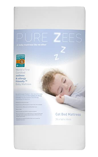 Pure Zees zertifiziert Asthma und Allergie Freundlicher Babybett ...