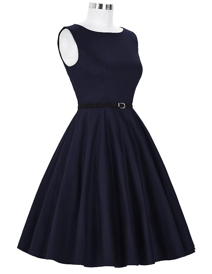 Grace Karin - Vestido de fiesta, estilo años 50 : Amazon.es: Ropa y accesorios