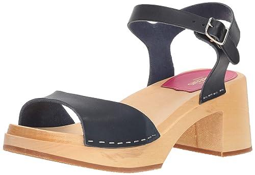 ba458478780ac swedish hasbeens Women's Mia Heeled Sandal