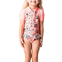 Rip Curl Girls' Mini Anak Ss Sunsuit One Piece