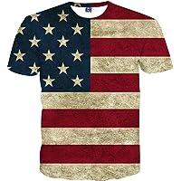 WDWY Camiseta de la Bandera de los EE.UU.