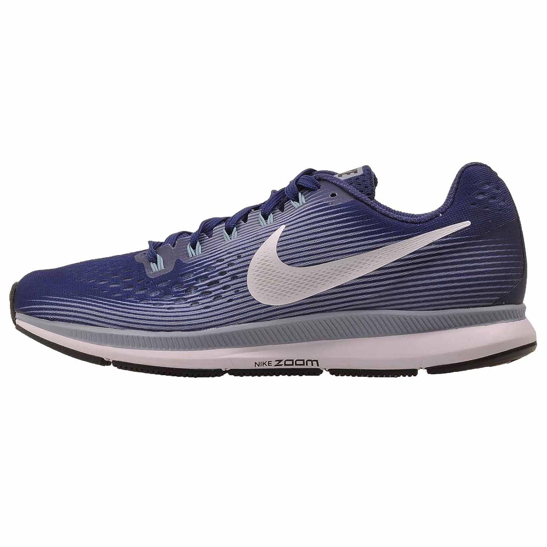 NIKE Women's Air Zoom Pegasus 34 Running Shoe B01MFHBYAH 7.5 B(M) US|Binary Blue/White-glacier Grey-cerulean