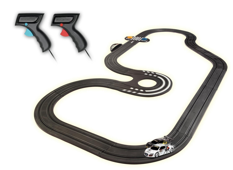 Micro Scalextric - Juego de carreras Turbo GT 1:64: Amazon.es: Juguetes y juegos