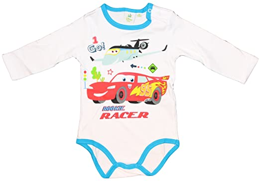 Disney Baby Cars Body Manga Larga  Amazon.es  Ropa y accesorios 85b297416911