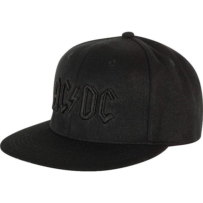 cf8375890bd Amazon.com  AC DC Men s Canon Pop Art Baseball Cap Adjustable Black ...
