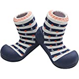 Attipas Marine Arrow Pre Walker Baby Shoes, Navy, Medium