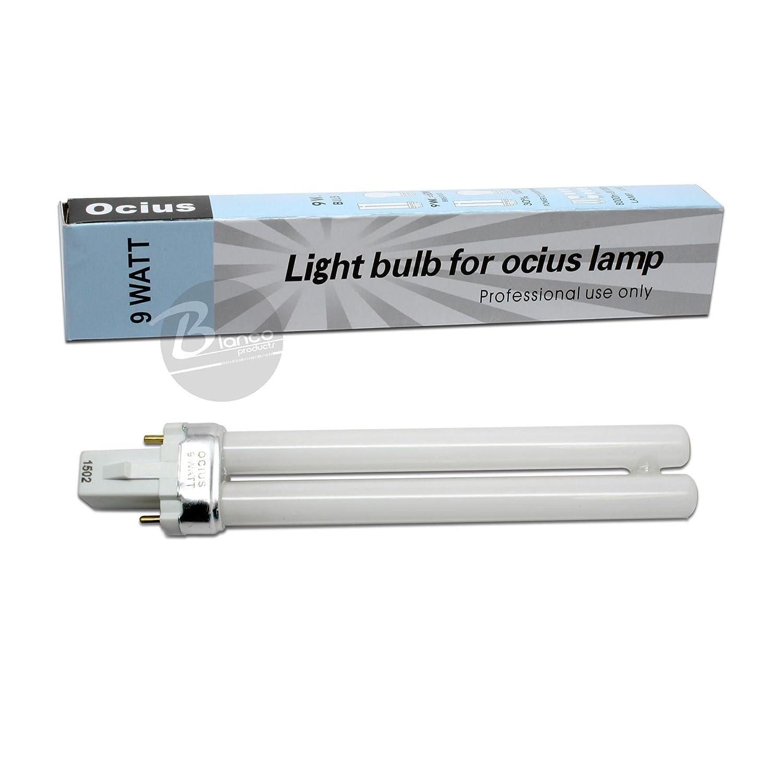Amazon.com: Ocius 9 Watt UV Bulb H Shape - 3 piece: Beauty