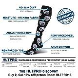 HLTPRO 20-30 mmHg Compression Socks Women & Men