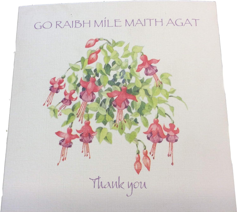 Go Raibh Mile Maith Agat Irish Thank You greeting card Thank You card
