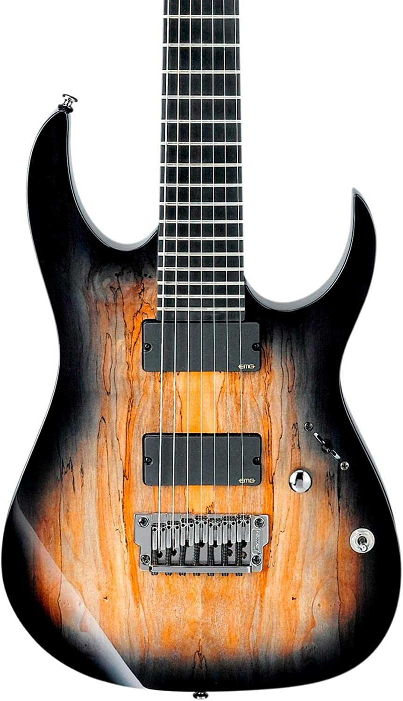 Ibanez hierro etiqueta RG serie rgix27fesm (7 cuerdas Guitarra ...