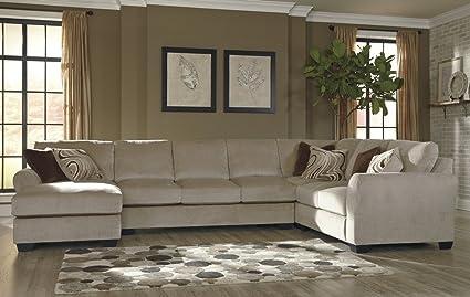 Magnificent Amazon Com Benchcraft Hazes Sectional Sofa W Laf Chaise Uwap Interior Chair Design Uwaporg