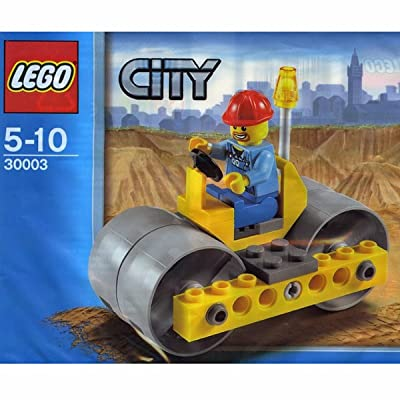LEGO City Steam Roller #30003 (bagged): Toys & Games