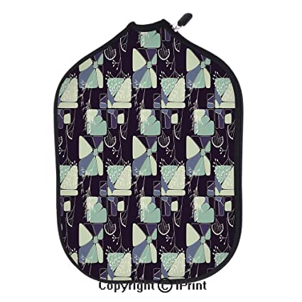 Premium neoprene material,soft,thick enough Protector Pickleball Paddle Cover,Geometric Soft Shapes