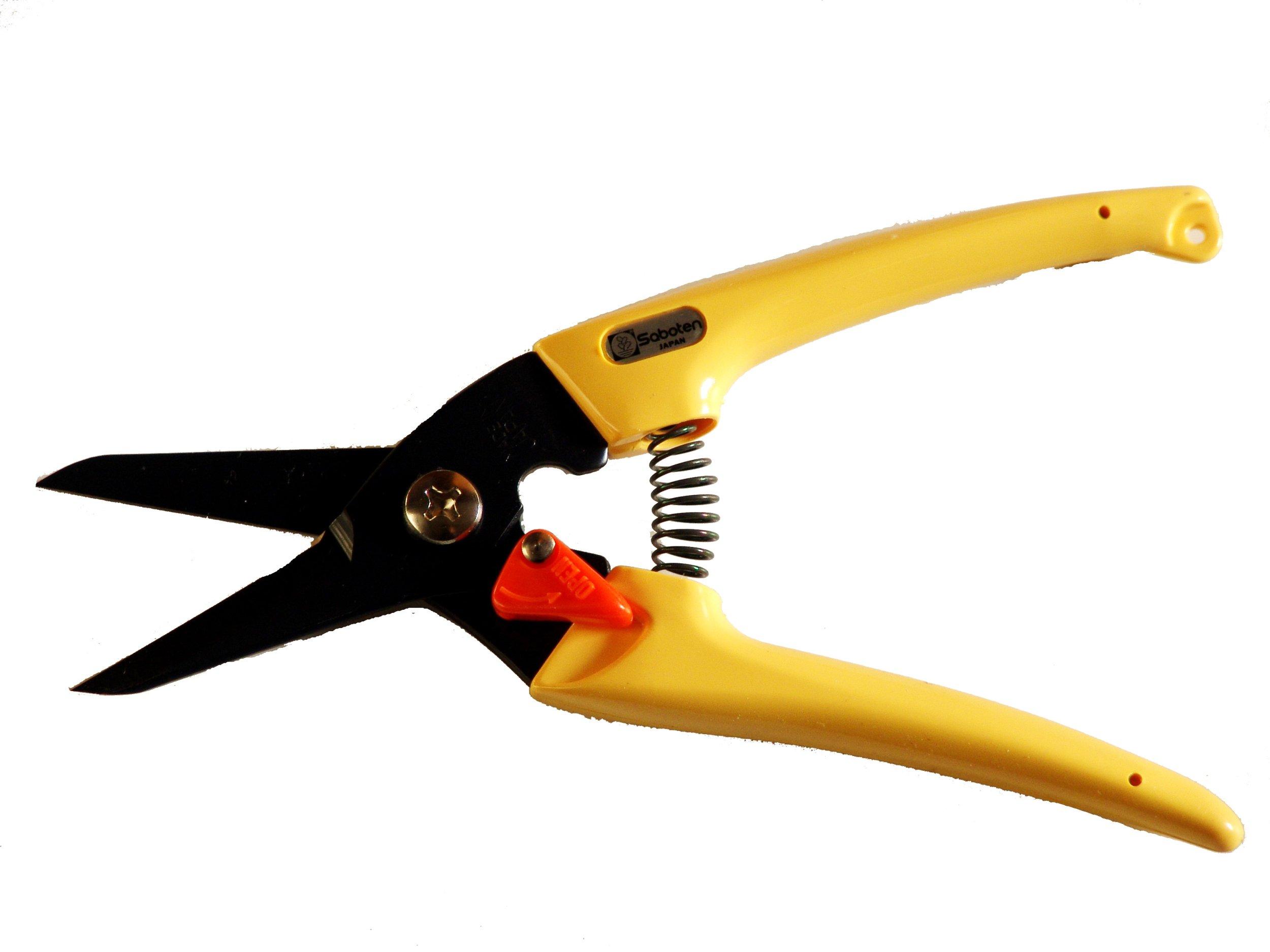 Pruner Scissors yellow