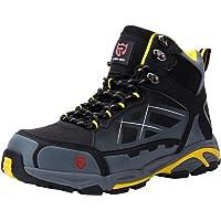 Zapato de Seguridad S3 SRC,LM-1702, con Tapa