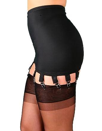 4645f5a18dbf Nylon Dreams NDG14 Women's Black Light Control Slimming Shaping Girdle XSml
